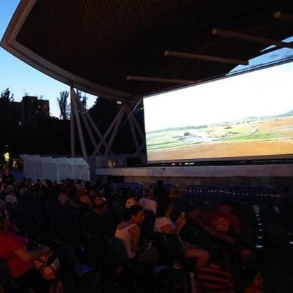 Cine de verano en Aluche