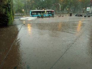 Cerca de 300 avisos en la Comunidad de Madrid por la tormenta caída en la tarde del domingo