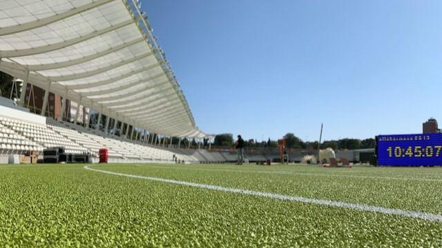 El Estadio de Vallehermoso, primer centro deportivo municipal en abrir