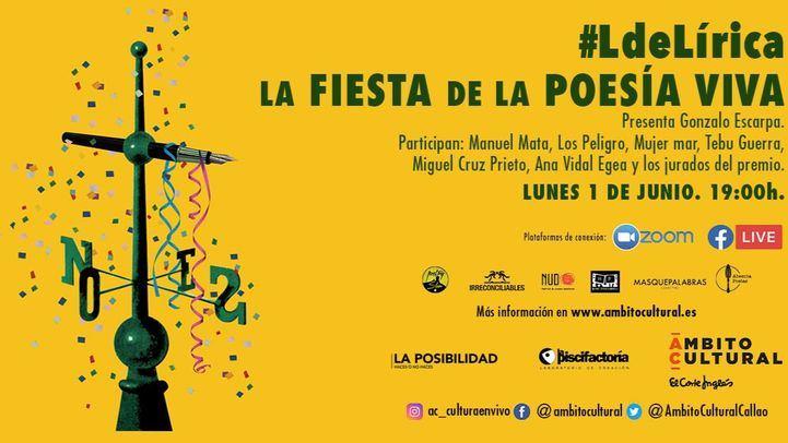 Ámbito Cultural de El Corte Inglés celebra la fiesta de la Poesía Viva con grandes poetas de toda España