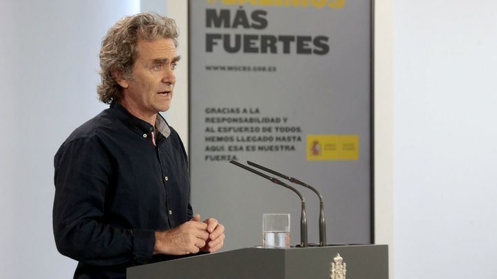 El director del Centro de Coordinación de Alertas y Emergencias Sanitarias, Fernando Simón, comparece en rueda de prensa para informar sobre las novedades del Covid-19.