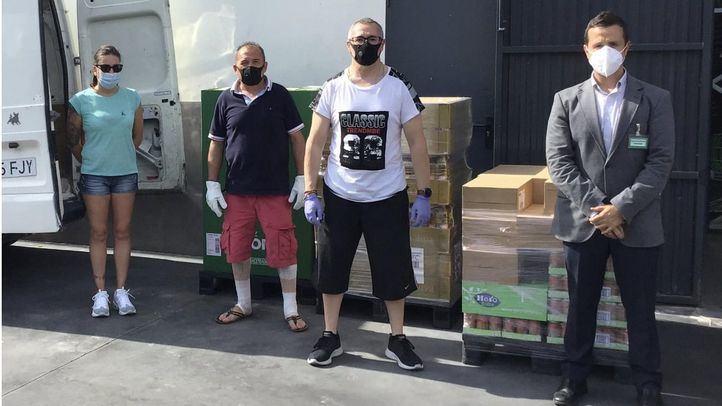 Mercadona dona a Cáritas de Mejorada del Campo más de dos toneladas de productos de primera necesidad
