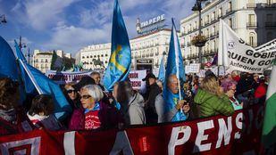 El Movimiento Pensionista acepta retrasar su concentración en Sol hasta después del minuto de silencio