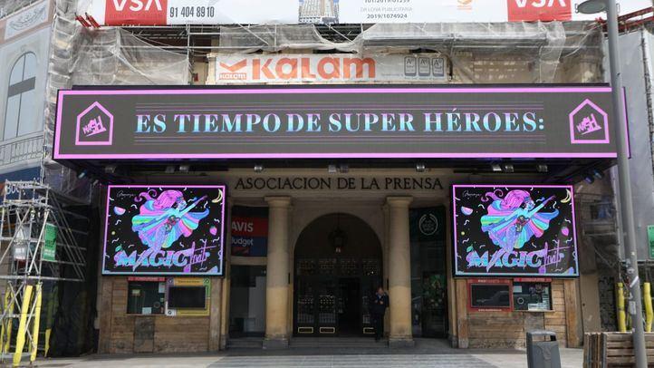 El Palacio de la Prensa emitirá un homenaje a los fallecidos por la pandemia