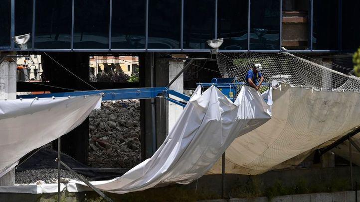 La obra de derribo del Vicente Calderón redobla las medidas para evitar vertidos al río