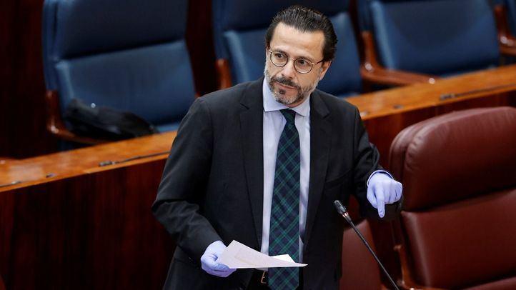 El consejero de Hacienda y Función Público, Javier Fernández-Lasquetty.