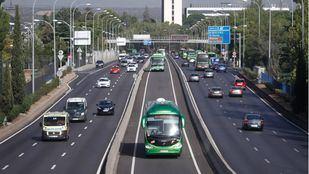 Madrid pide que los Bus-VAO estén operativos cuanto antes para contrarrestar el previsible aumento del tráfico privado