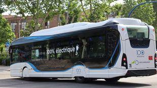 Fuenlabrada realiza pruebas con un bus eléctrico para estudiar la adaptación a la ciudad
