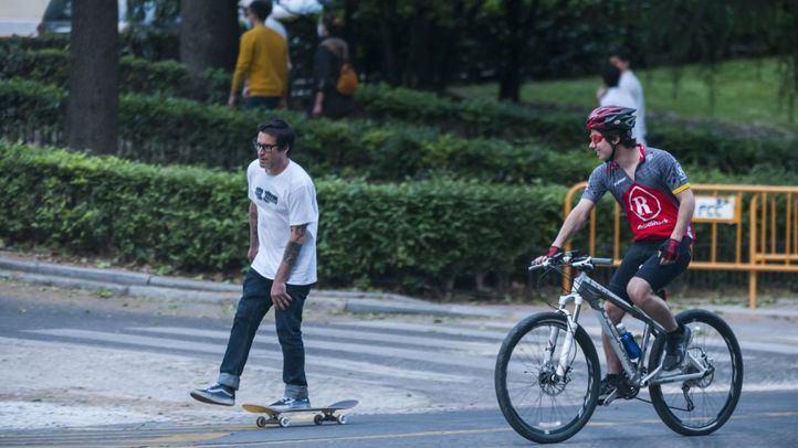 La capital registra casi el doble de accidentes de bici que en mayo de 2019