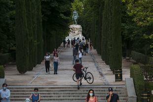 El Ayuntamiento de Madrid recomienda desalojar los parques a partir de las 15 horas debido al mal tiempo