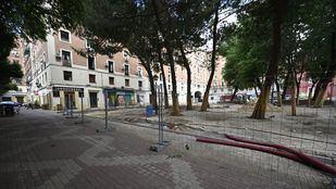 Comienzan las obras en la plaza de Rutilio Gacis, en el distrito de Arganzuela.