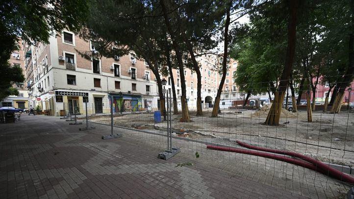 Obras en Rutilio Gacis: una plaza más abierta para espantar la delincuencia