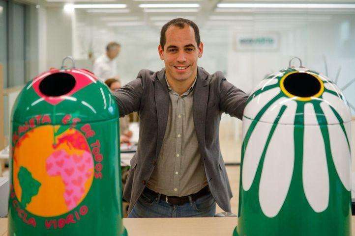 Ricardo Sevilla, gerente de zona de Ecovidrio.
