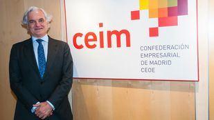 Imagen de recurso del presidente de CEIM, Miguel Garrido.