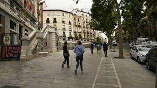 Caen en Madrid los contagios por coronavirus y también el número de fallecidos