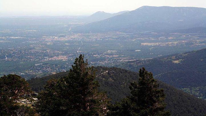 Vistas desde el Parque Nacional de la Sierra de Guadarrama