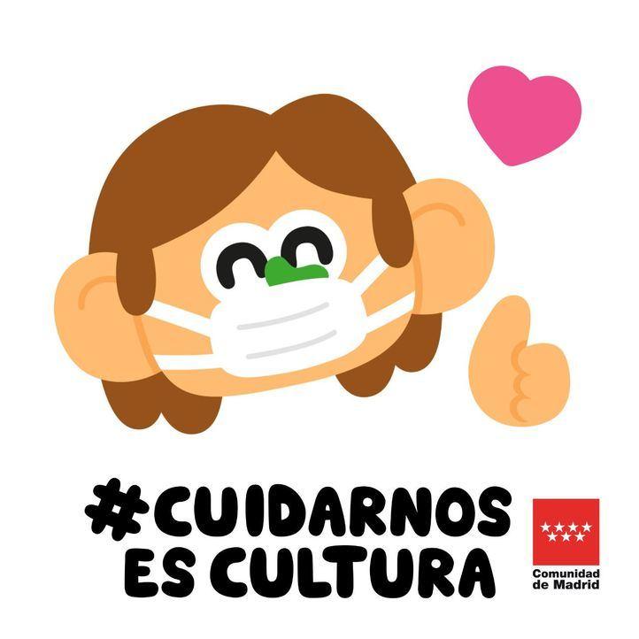 Ilustraciones de Emo Díaz para concienciar sobre el uso de mascarillas.