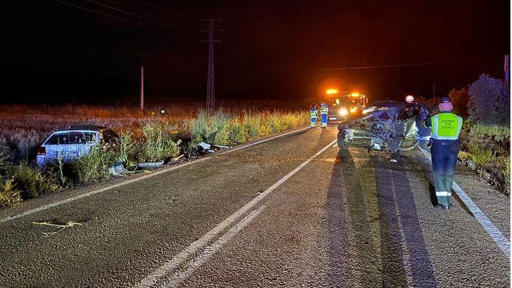 Fallece un hombre de 34 años tras un choque frontal entre turismos en Colmenar de Oreja
