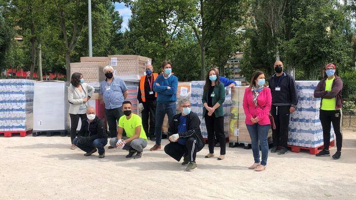 Mercadona dona a la ONG San Ricardo Pampuri de Fuenlabrada 9,5 toneladas de alimentos