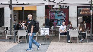 Sancionadas 1.814 terrazas de Madrid en la fase 1