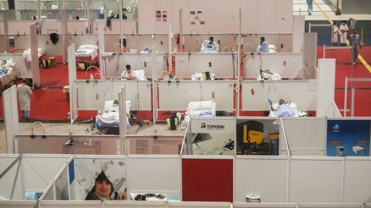 Descienden los contagios por coronavirus en Madrid