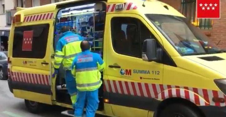 Herido un trabajador al caer de una obra en Pinto