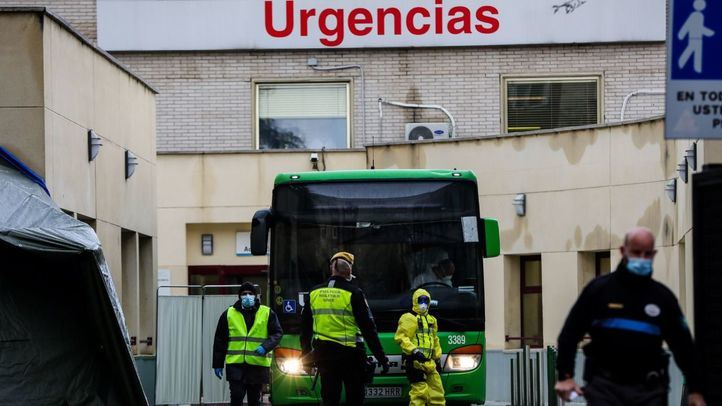 Continúa el repunte de contagios en Madrid