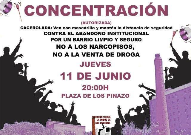 Cacerolada este jueves en San Cristóbal de los Ángeles