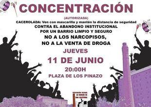Cacerolada este jueves en San Cristóbal de los Ángeles 'contra la droga y el abandono institucional'