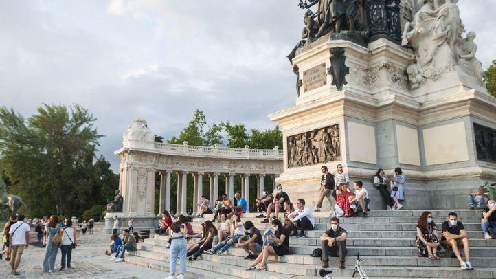 El Ayuntamiento de Madrid recomienda no visitar los parques por fuertes vientos