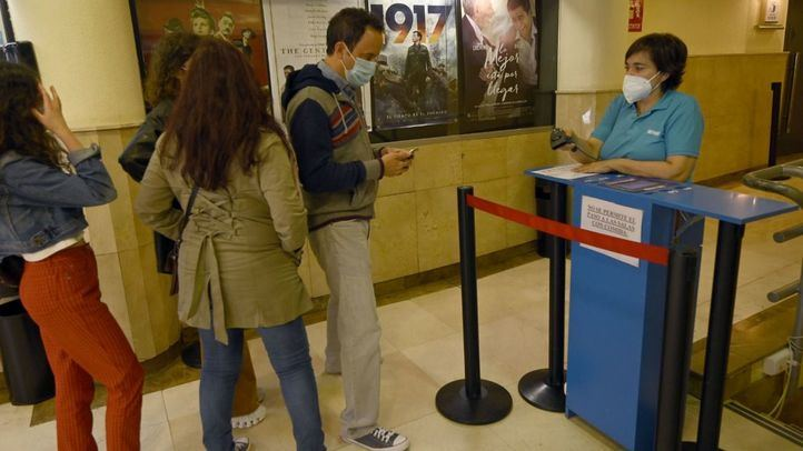 Reabren los cines en Madrid