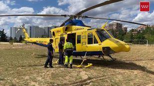 El herido ha sido trasladado a La Paz en helicóptero