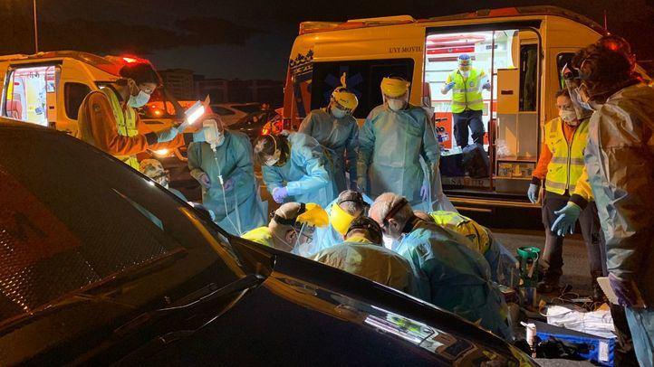 Fallece en Usera un hombre de 62 años al ser atropellado por un turismo