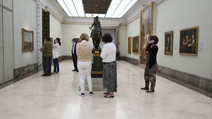La Real Academia de Bellas Artes reabre su museo este martes.