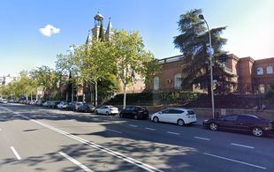 Avenida Menéndez Pelayo.