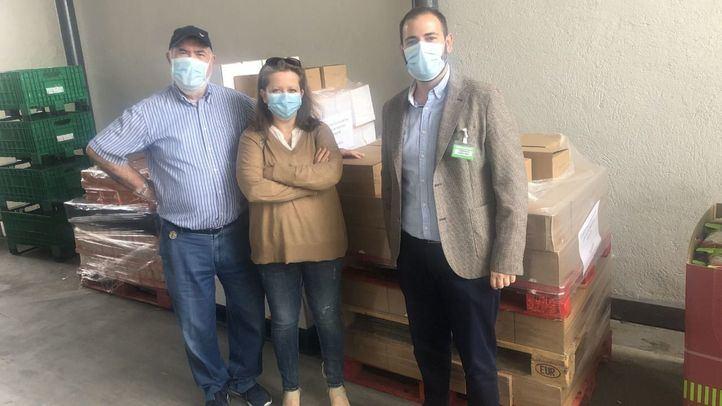 Mercadona dona 5.000 productos de primera necesidad a una casa de acogida de Alcalá de Henares