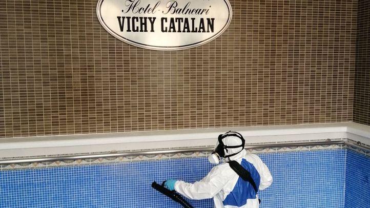 El Hotel Balneario Vichy Catalan