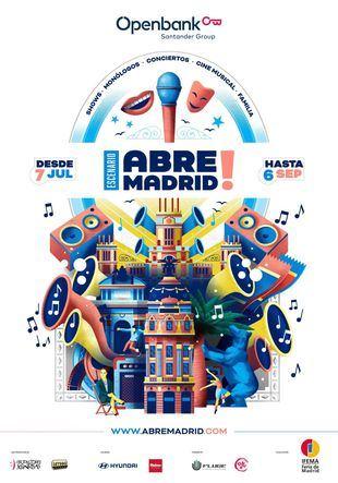 'Abre Madrid', el nuevo recinto al aire libre de Feria de Madrid con conciertos y ciclos de cine