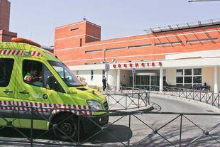 Urgencias y ambulancia del hospital 12 de Octubre