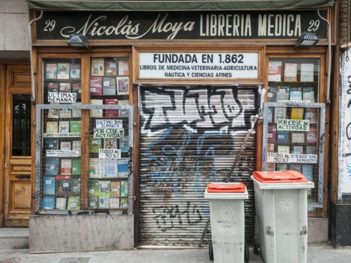 El 80% de las pequeñas librerías, ante la ruina