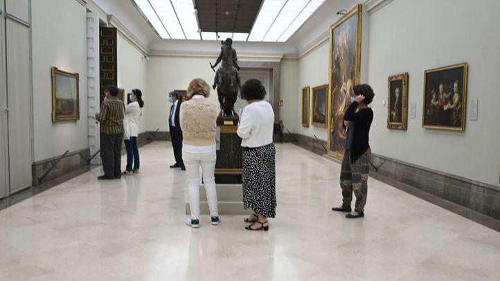 Desescalada cultural: paseos por los museos, trenes y estrenos de cine