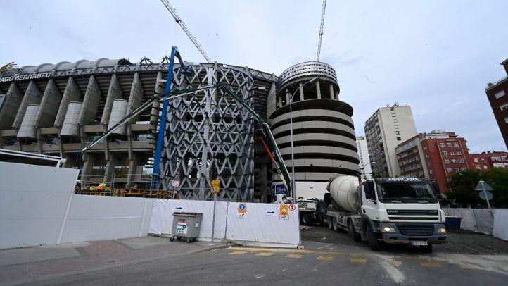 Así avanzan las obras del Santiago Bernabéu