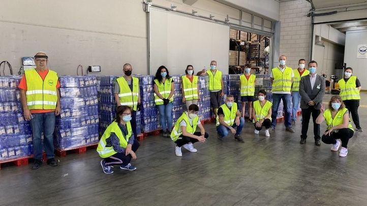 Mercadona dona al banco de alimentos de Madrid más de 27 toneladas de producto de primera necesidad