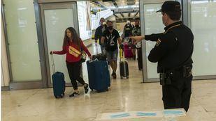 Llegada de pasajeros al Aeropuerto Adolfo Suárez Madrid-Barajas
