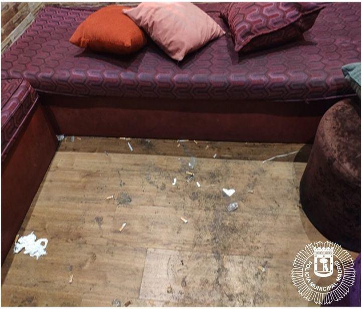 Desalojan un 'after' en Tetuán sin autorización donde se consumían drogas