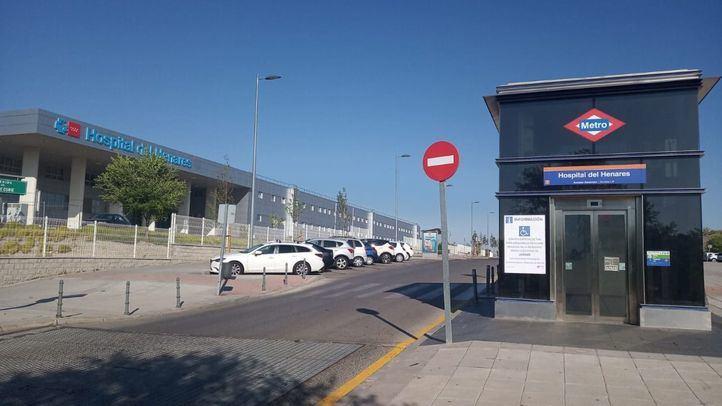 La estación de Metro Hospital del Henares..