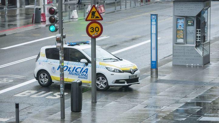 Dos detenidos por un robo con fuerza en un coche en Chamberí