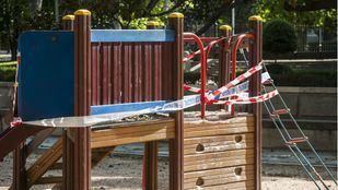 Algunas áreas infantiles de los parques han abierto desde el lunes.