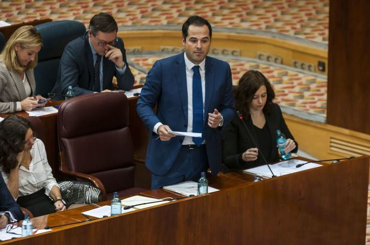 Aguado asegura que mañana todos los diputados de Ciudadanos votarán en contra de reprobar a Escudero