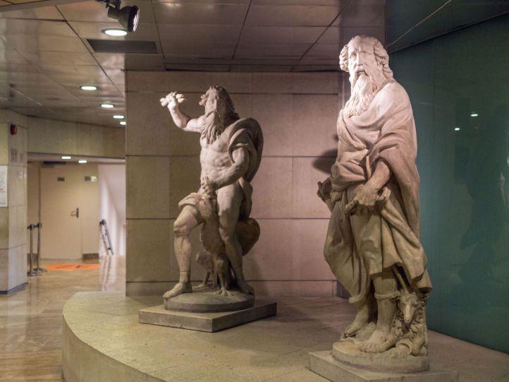 La intervención se va a producir, básicamente, en el vestíbulo, del que desaparecerán las estatuas.